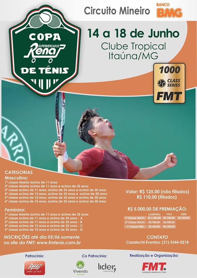 bc223b7cea II Copa Tropical Tênis Clube de Tênis Feminino 2017
